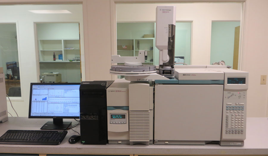 Agilent Technologies 5973N GC/MS System