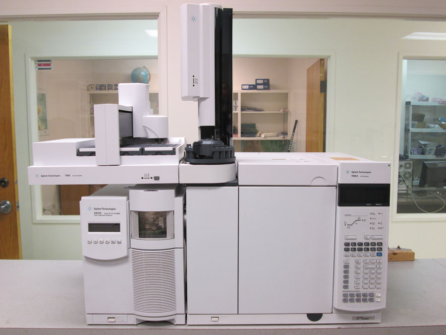 Agilent 5975C GC MS