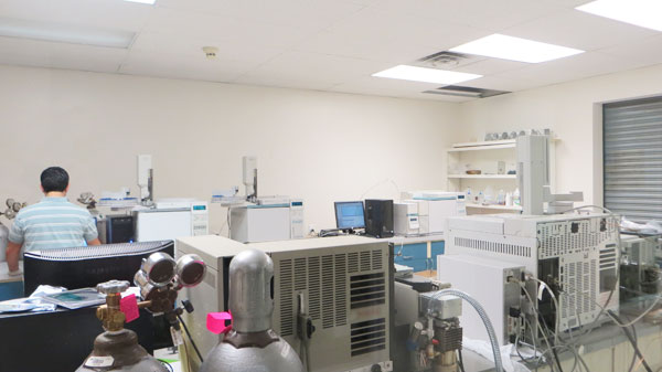 Analytical Instrument Management, refurbished agilent Gas Chromatograph Lab